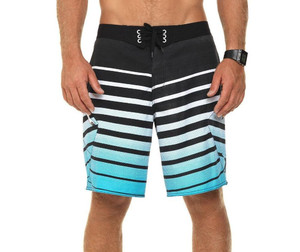 Spodenki Oxbow Toddy Engineered Stripes Boardshort (Electric Blue)